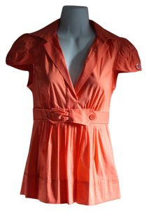 BCBGMAXAZRIA Top orange