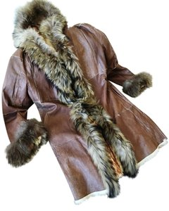 Italian Artsian Made Fur Coat