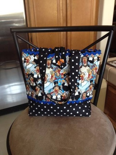 Other New Tote in Christmas Thanksgiving Print