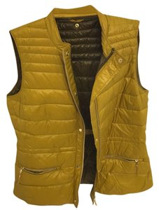 Zara vest Yellow Jacket