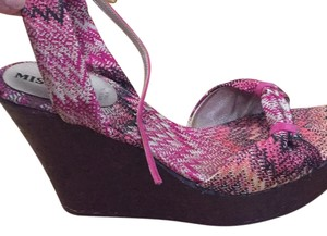 Missoni Shades on pink/purple Sandals