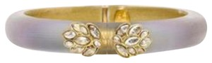 Alexis Bittar Alexis Bittar Lucite And Crystal Hinged Bracelet New