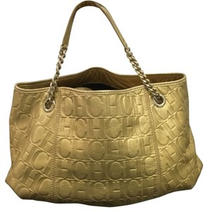 Carolina Herrera Satchel in Golden