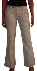 7 For All Mankind Straight Pants White