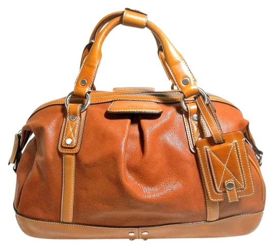Cole Haan Leather Like New Satchel in Tan