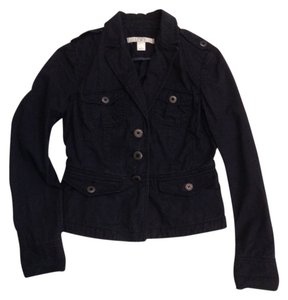Ann Taylor LOFT Lightweight Navy blue Jacket
