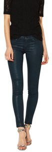 Rich & Skinny Denim Patent Skinny Jeans-Coated