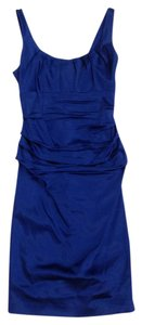 Suzi Chin for Maggy Boutique Figure Flattering Satin Dress