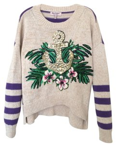 Juicy Couture Cotton Rhinestones Sweater