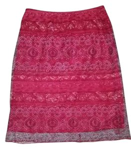 Other Boho Skirt Red
