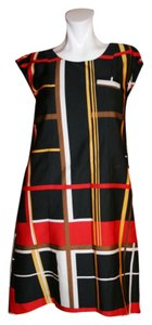 Kara Laricks short dress Red, Black, and White Fashion Star Plaids on Tradesy