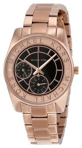 Michael Kors Stainless Steel Rose Gold Sport Designer Watch