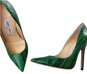 Jimmy Choo Green Pumps