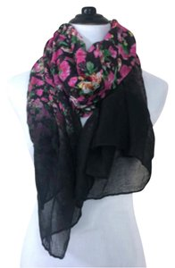 Other Floral Print Scarf