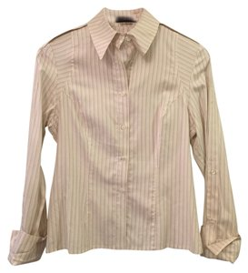 Zenobia Button Down Shirt Ivory