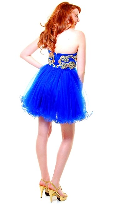 P.R.I.M.A. Glitz by Kari Chang Homecoming Prom Tulle Cocktail 12 Dress