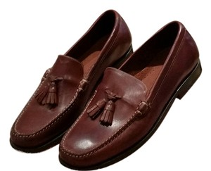 Cole Haan Leather Brown Flats