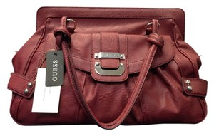 Guess Large Tote in Deep Gorgeous Red