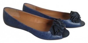 Kenneth Cole blue Flats