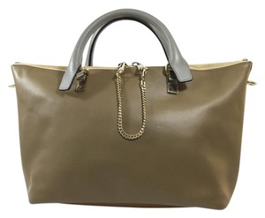 Chloé Satchel in Khaki and Dhingy