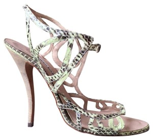 Manolo Blahnik Light green Sandals