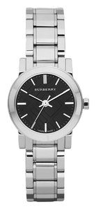 Burberry Burberry Ladies The City Black Stainless Steel Watch 25mm BU9201