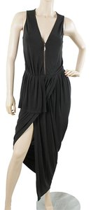 Black Maxi Dress by Kore Dress - Kore by Sophia Kokosalaki Black Drape Zip Dress Maxi Wrap
