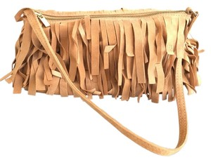 Carolina Herrera Wristlet in Camel