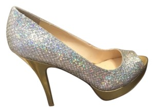 Enzo Angiolini Gold/Silver Platforms