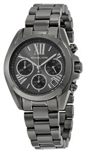 Michael Kors Stainless Steel Gunmetal Unisex Stainless Steel Watch
