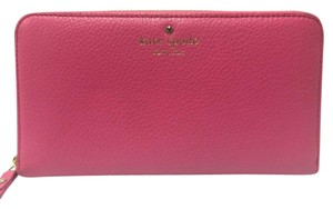 Kate Spade Cobble Hill Lacey Wallet Strawberry Froyo Color
