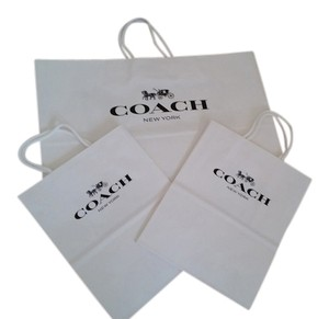 Coach Coach Paper Shopping Bags