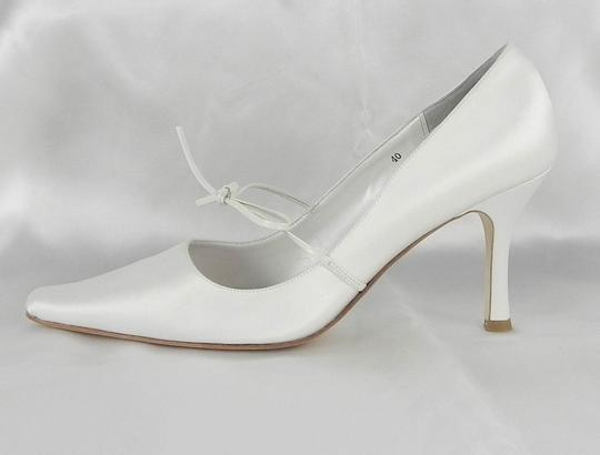 Filippa Scott Ivory Rosie Ribbon Tie Formal Size US 9.5