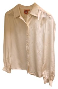 Tory Burch Blouse Button Down Button Down Shirt Cream, Off-White