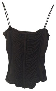 Elie Tahari New Slip Top Black