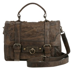 Frye Cameron Satchel in Brown