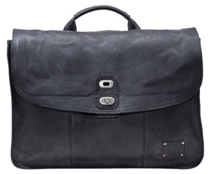 Will Leather Goods Black Messenger Bag