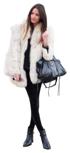 Saga Furs Fox Fur Fur Fur Jacket Coat