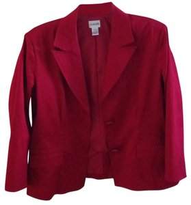 Chico's Rasberry red Jacket