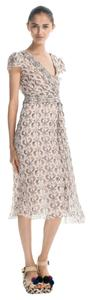 Tory Burch Venice Silk Seahorse Dress