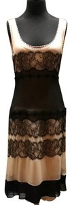 Jenny Packham Chantilly Lace Trim Lace Dress