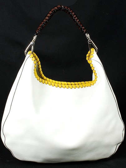 Marni Leather Stitch Hobo Bag
