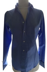 Ralph Lauren Black Label Button Down Shirt Blue