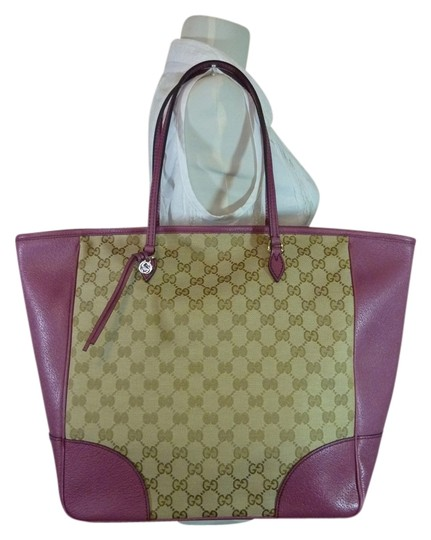 Preload https://item1.tradesy.com/images/gucci-bree-beigedusty-canvasleather-beigeebonydusty-rose-canvasleather-tote-12325105-0-1.jpg?width=440&height=440