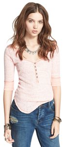 Free People Slub Henley Sweater