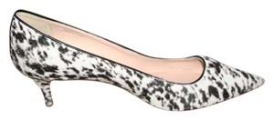 J.Crew Black White Pumps
