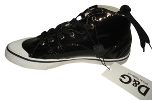 Dolce&Gabbana Patent Leather Black Athletic