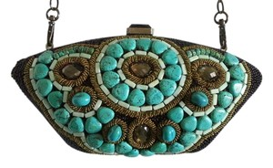 Mary Frances Clutch Shoulder Bag