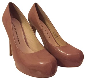 Chinese Laundry Dark Blush Platforms