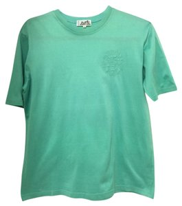 Herms T Shirt Teal